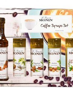Monin Coffee Syrup Gift Set (5x5cl) product thumbnail image
