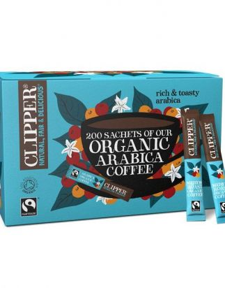 Clipper Organic Fairtrade Arabica Coffee (200 Sticks) product thumbnail image