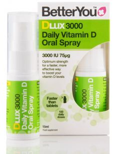 BetterYou DLux 3000 Vitamin D Oral Spray (15ml) product thumbnail image