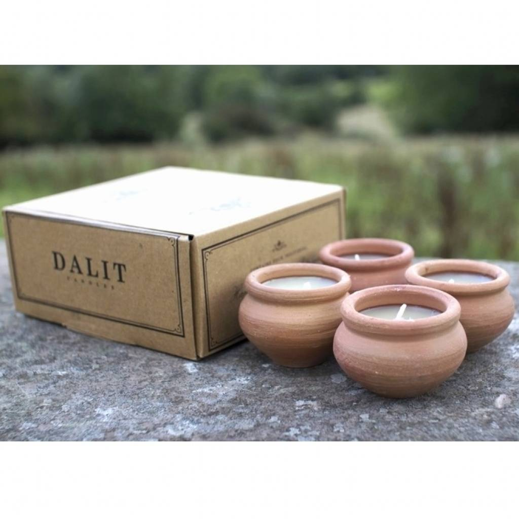 Dalit Murgan Candles (Box of 4) gallery image #1
