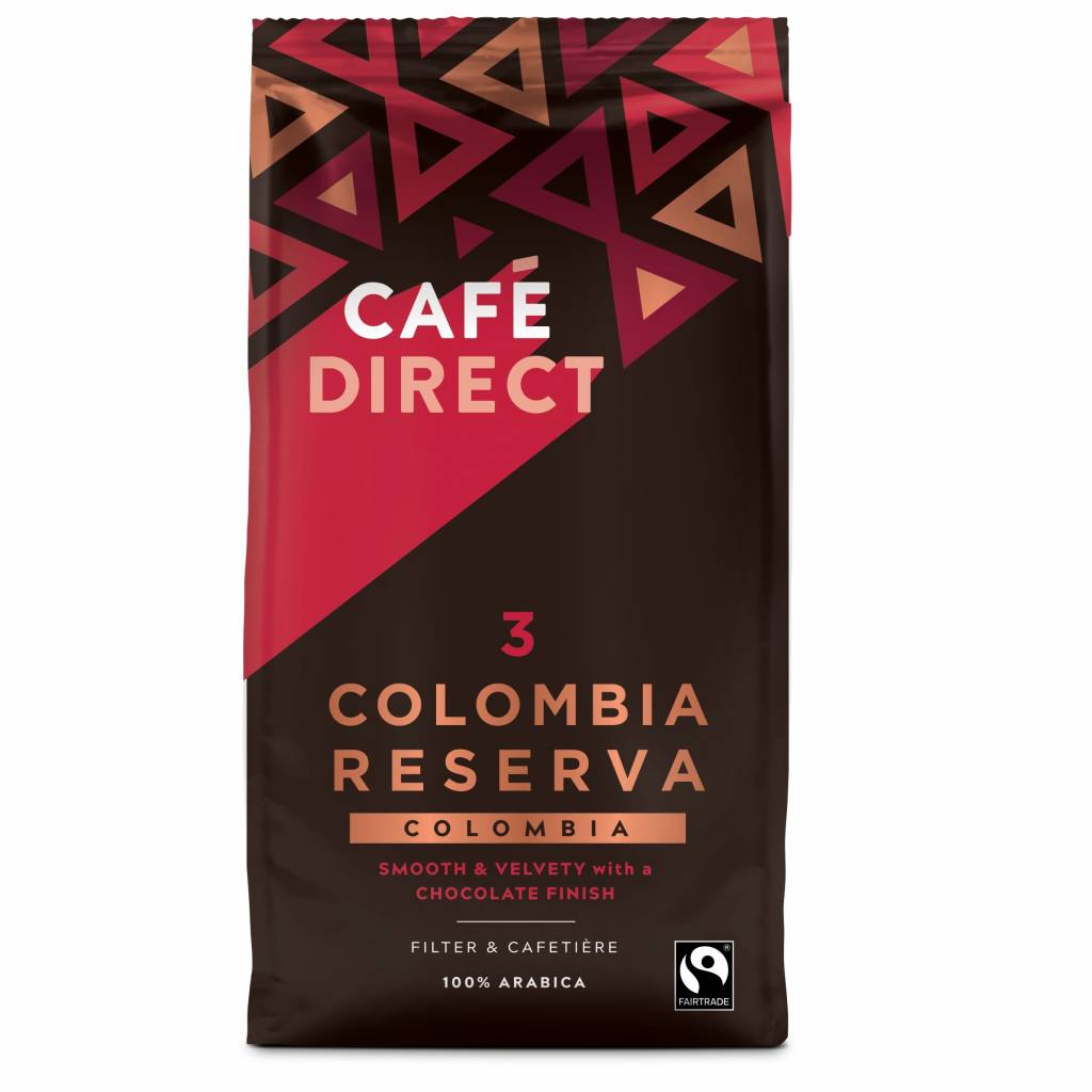 Cafedirect Colombia Reserva Ground Coffee (227g) gallery image #1