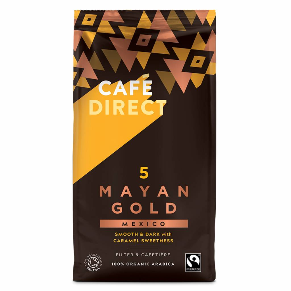 Cafedirect Mayan Gold Beans (227g) gallery image #1