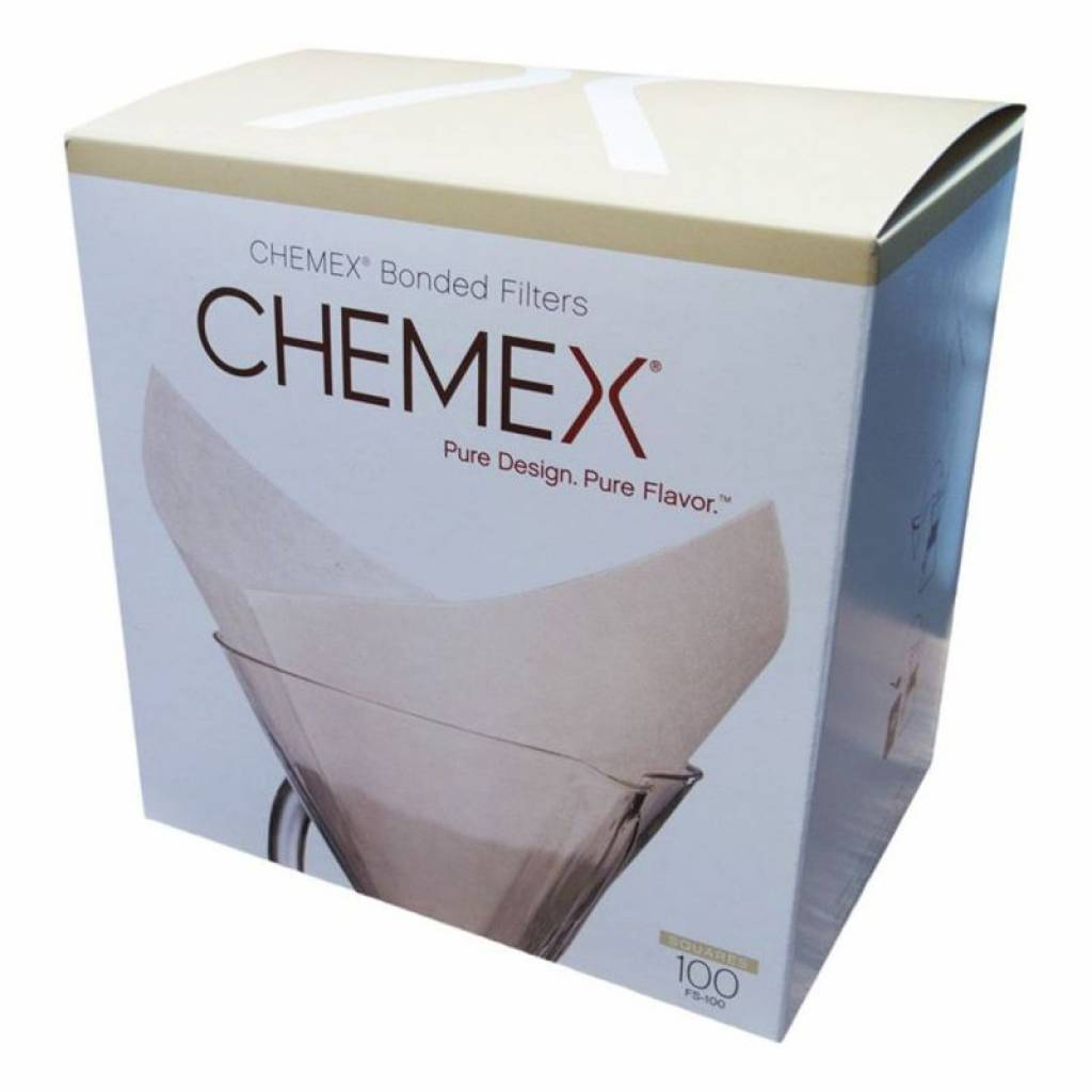 Chemex Filter Papers - Squares (100) gallery image #1