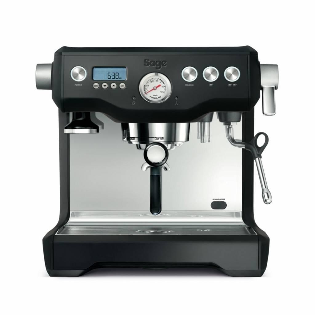 Sage The Dual Boiler Espresso - Black Truffle gallery image #1