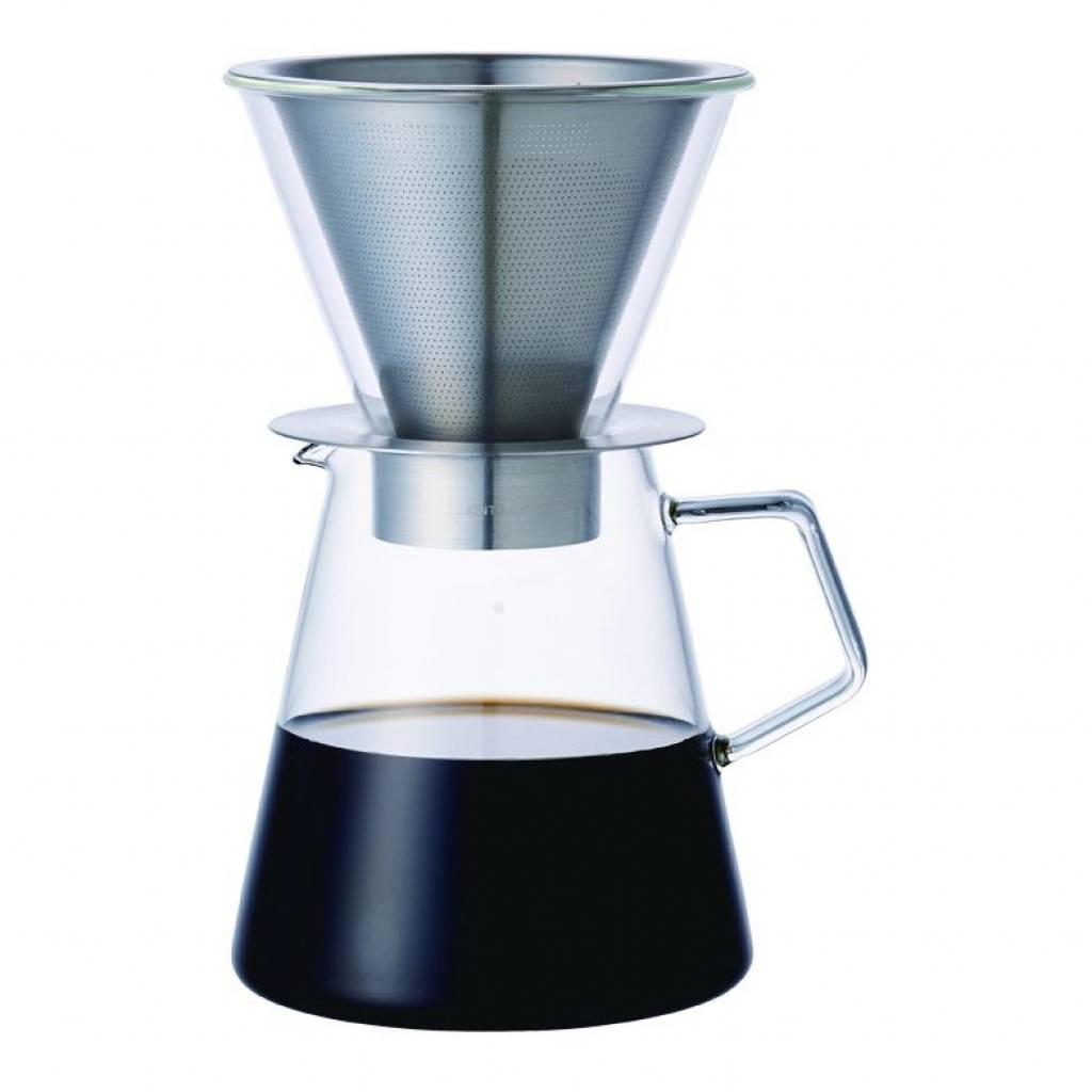 Kinto Carat Coffee Dripper & Pot gallery image #1