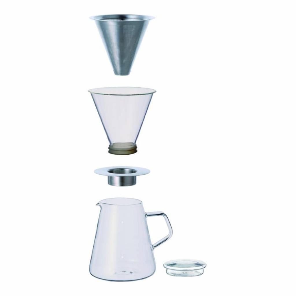Kinto Carat Coffee Dripper & Pot gallery image #2