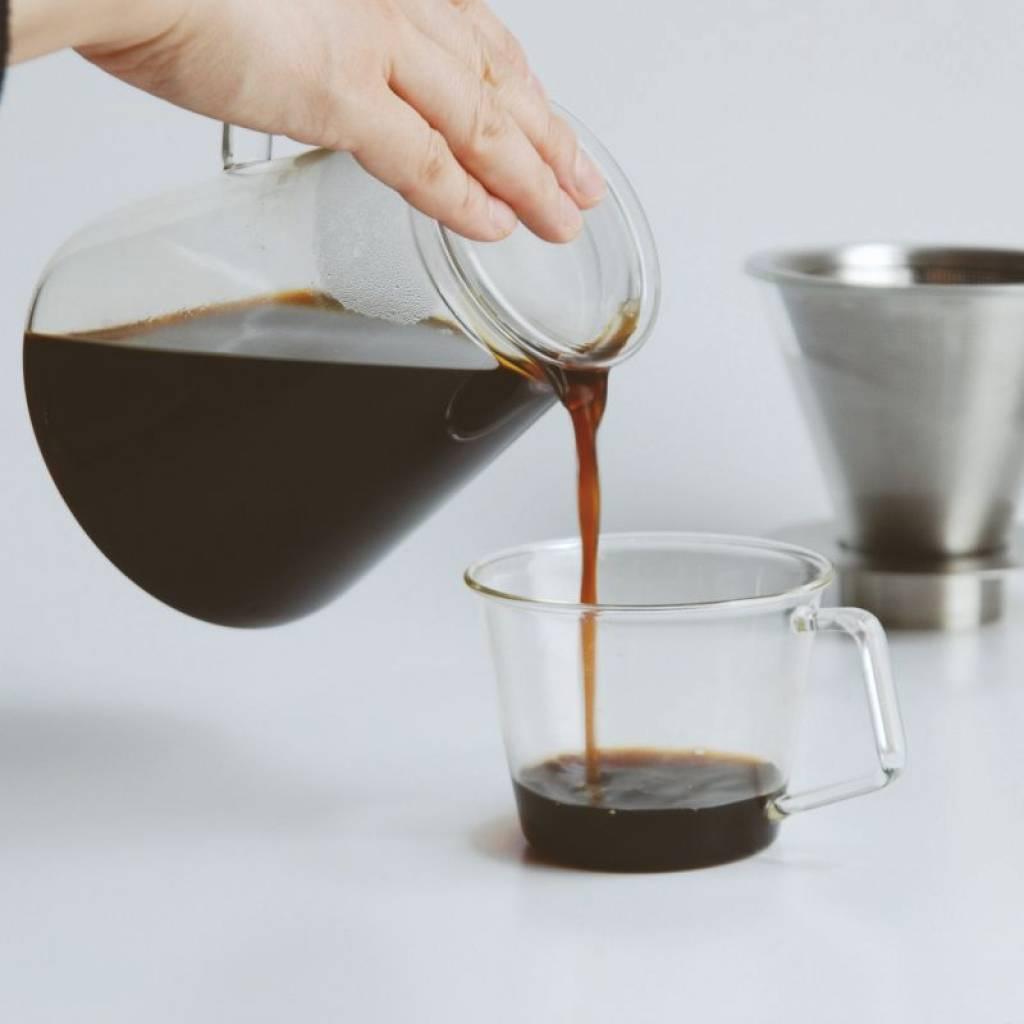 Kinto Carat Coffee Dripper & Pot gallery image #3