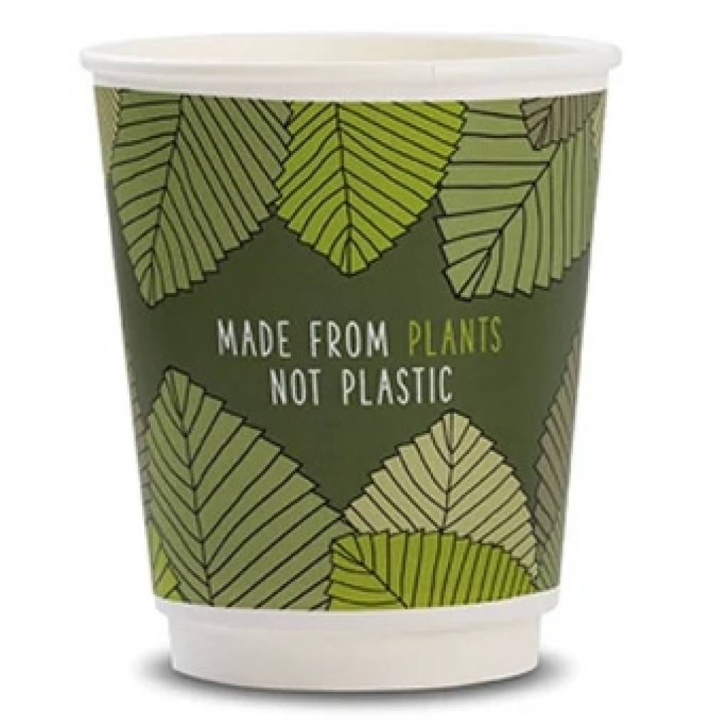 8oz Vegware Double Wall Cups (500) gallery image #1