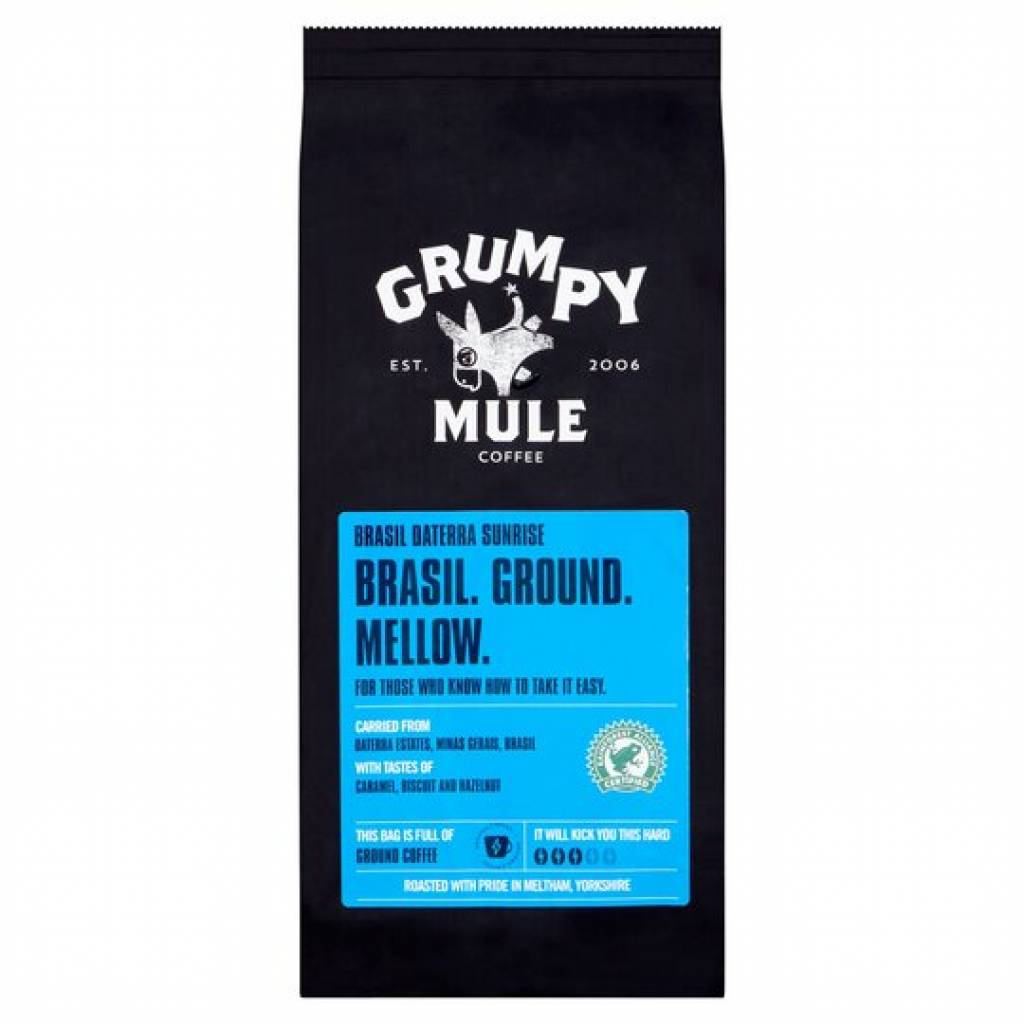 Grumpy Mule Brazil Ground Coffee (227g) gallery image #1
