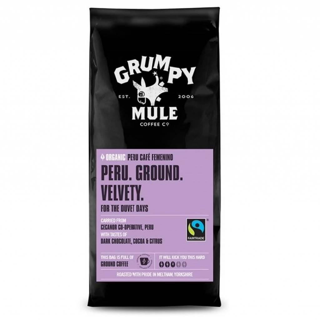 Grumpy Mule Peru Femenino Ground Coffee (6x227g) gallery image #1