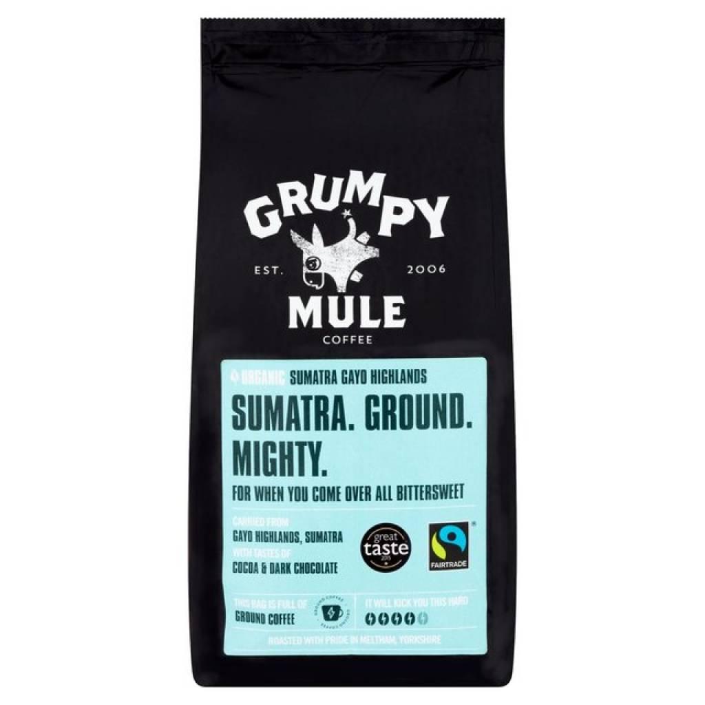 Grumpy Mule Sumatra Ground Coffee (6x227g) gallery image #1