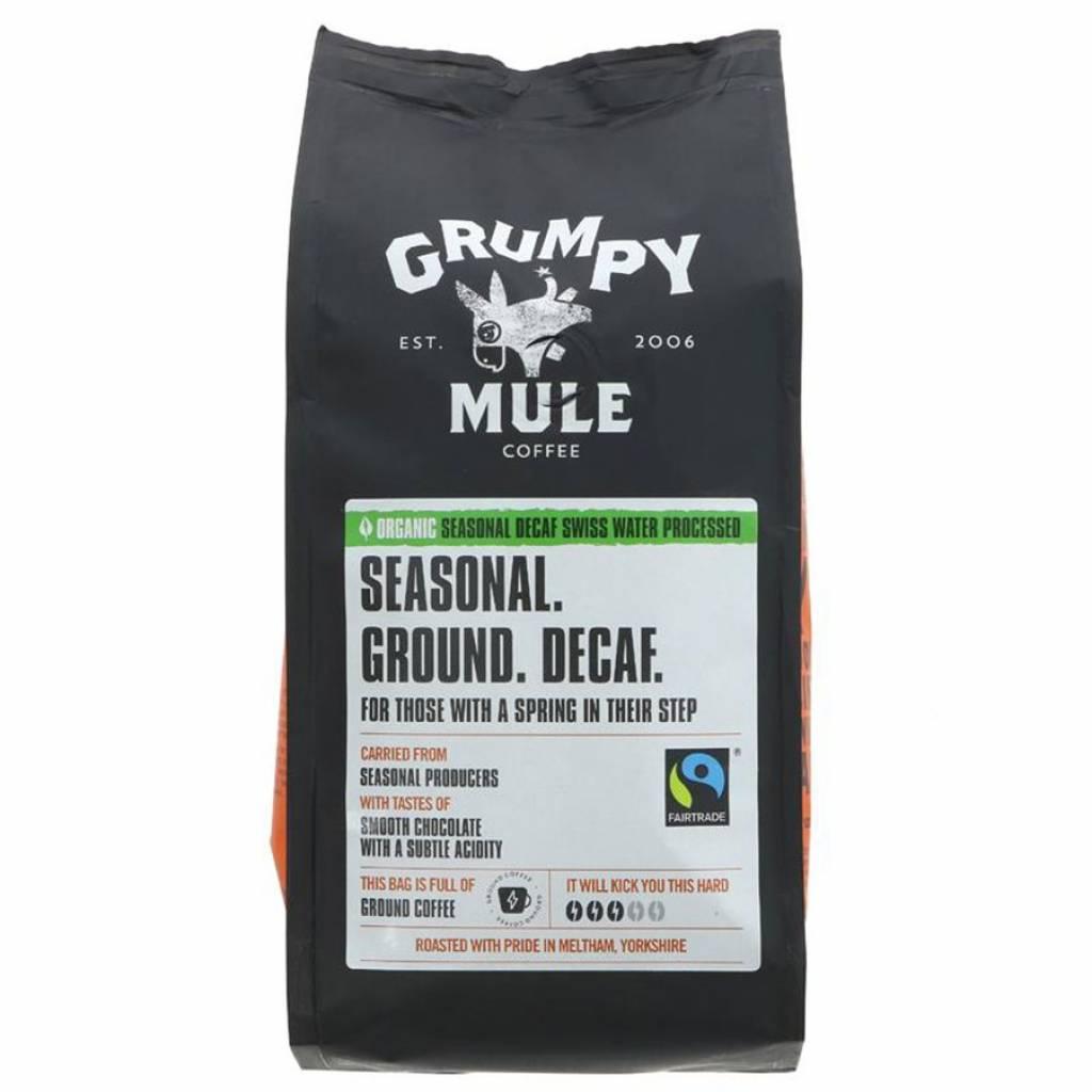 Grumpy Mule Swiss Decaf Ground Ground Coffee (227g) gallery image #1