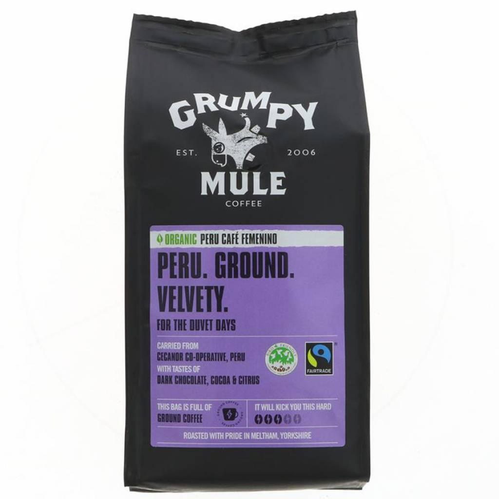 Grumpy Mule Peru Femenino Coffee Beans (6x227g) gallery image #1
