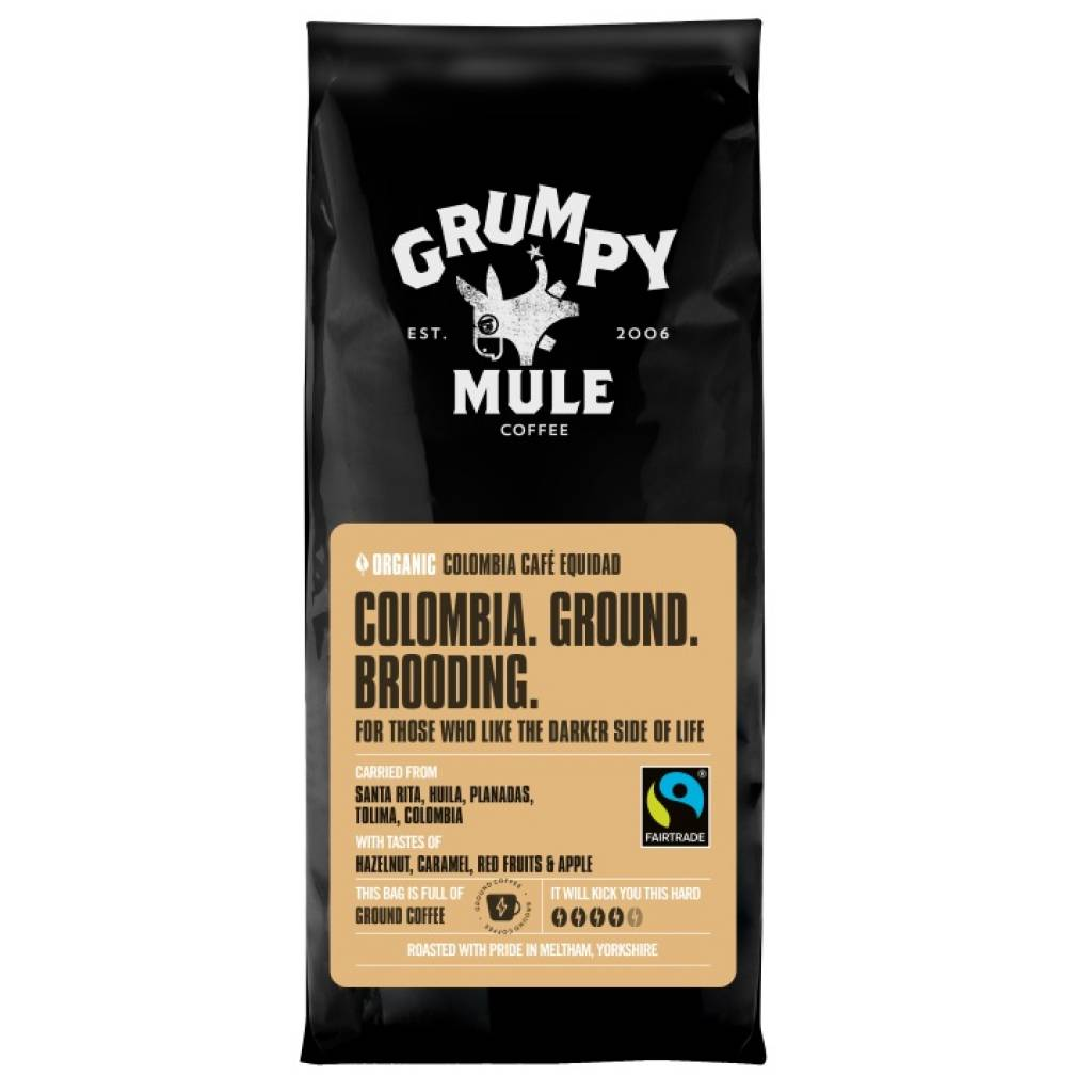 Grumpy Mule Colombia Ground Coffee (227g) gallery image #1