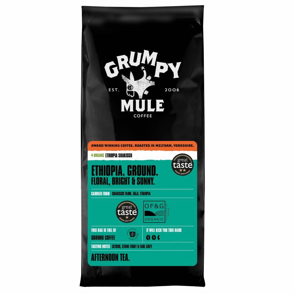 Grumpy Mule Ethiopia Shakisso Ground Coffee (6x227g) gallery image #1