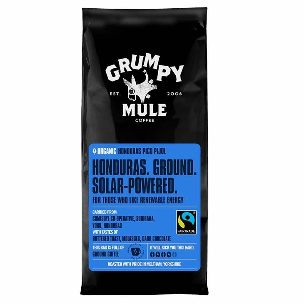 Grumpy Mule Honduras Pico Pijol Ground Coffee (6x227g) gallery image #1