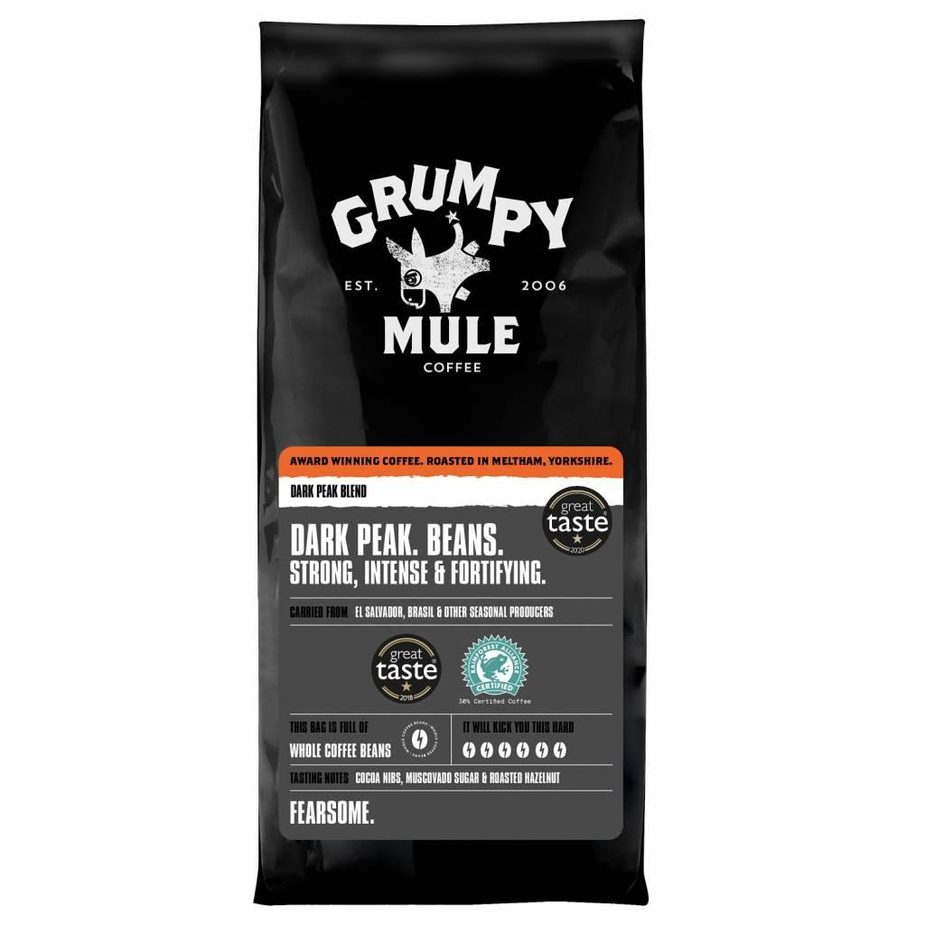 Grumpy Mule Dark Peak Coffee Beans (10x500g) gallery image #1
