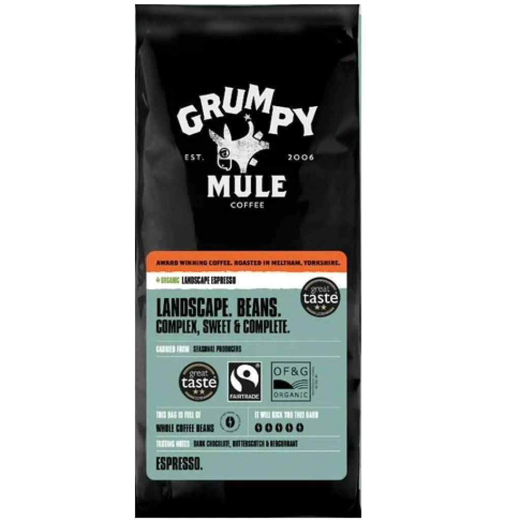 Grumpy Mule Landscape Espresso Beans (10x500g) gallery image #1
