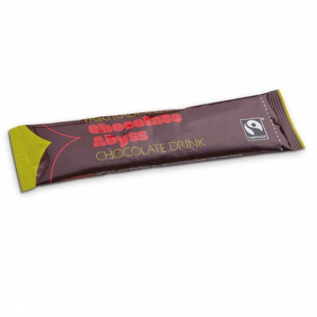Chocolate Abyss Fairtrade Instant Sachets (100x25g) gallery image #1