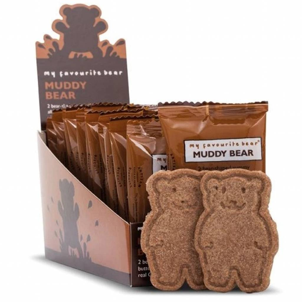 Muddy Bear Twin Pack Biscuits (48x25g) gallery image #1