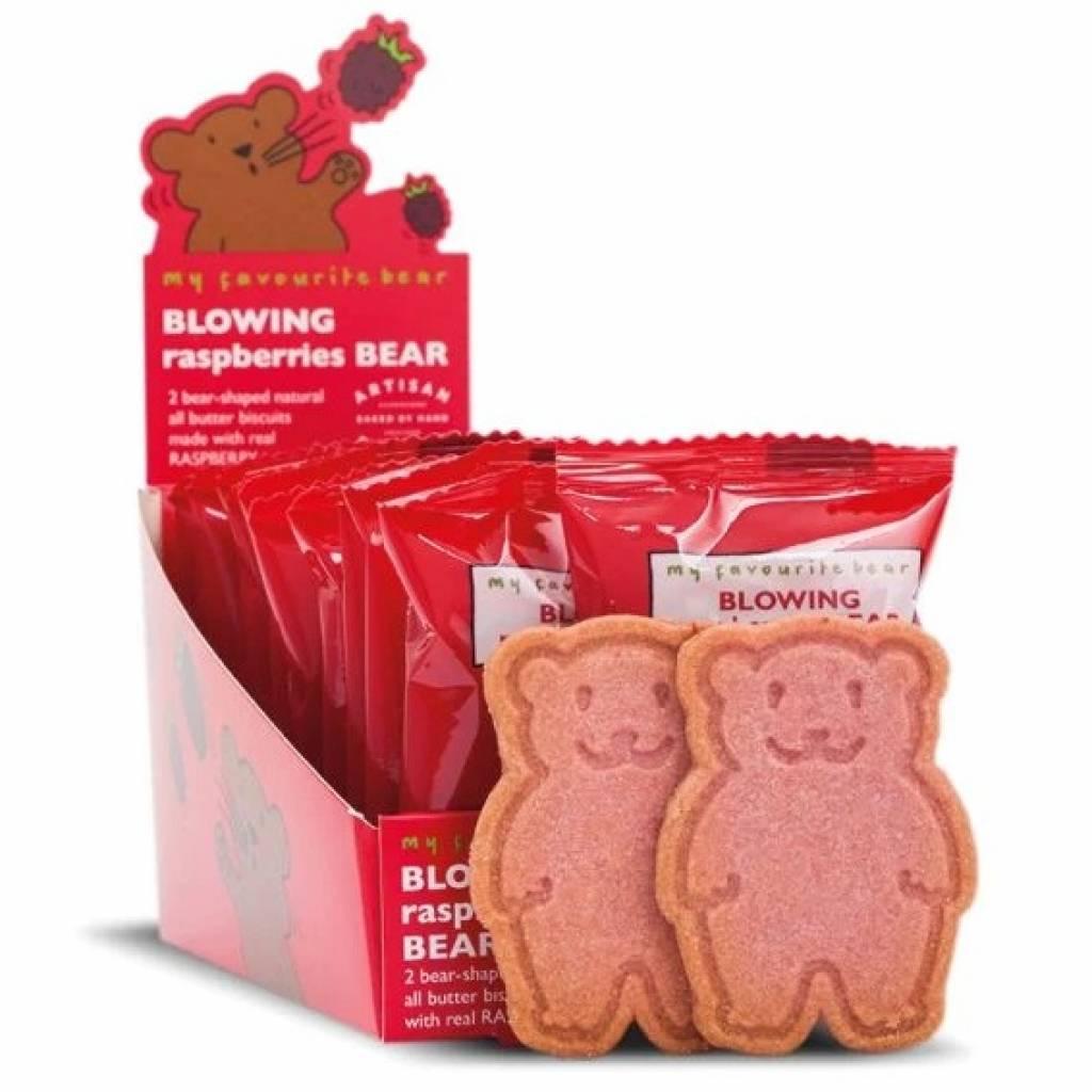 Blowing Raspberries Bear Twin Pack Biscuits (48x25g) gallery image #1