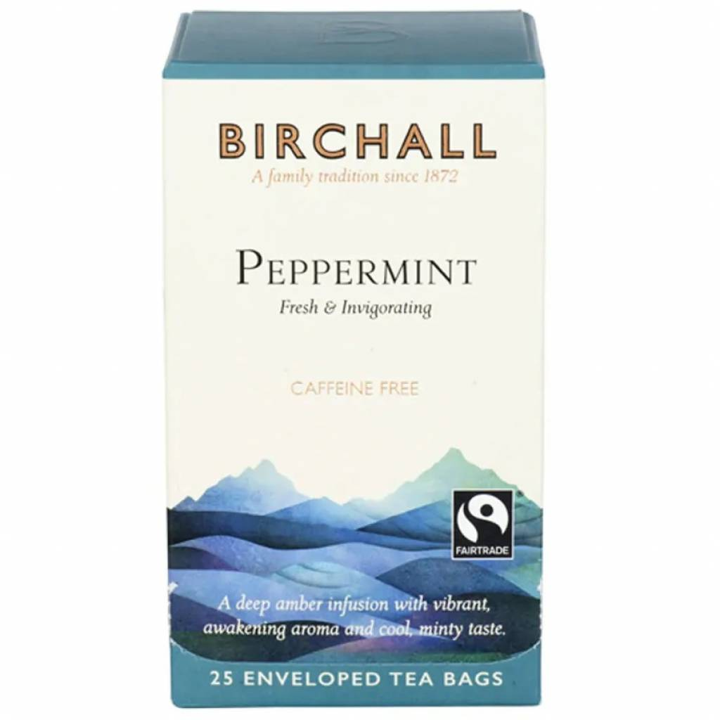 Birchall Peppermint Tea Bags (6x25) gallery image #1