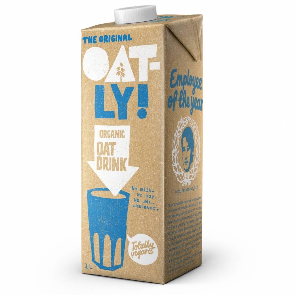 Oatly Organic Oat Drink (1L) gallery image #1