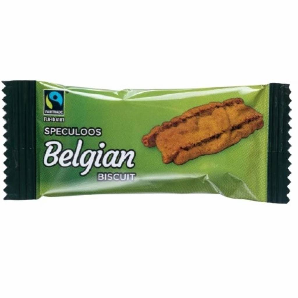 Fairtrade Speculoos Coffee Biscuits (300) gallery image #1