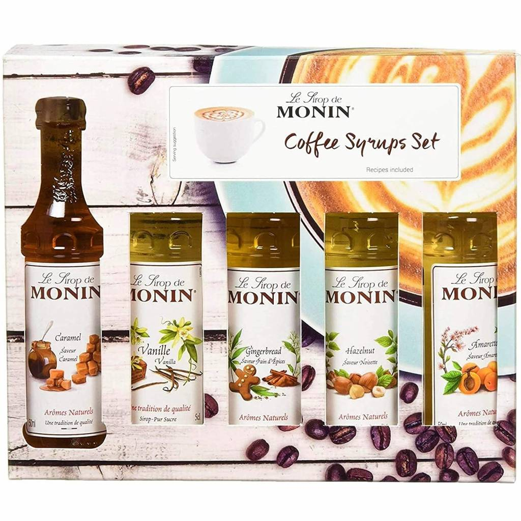 Monin Coffee Syrup Gift Set (5x5cl) gallery image #1