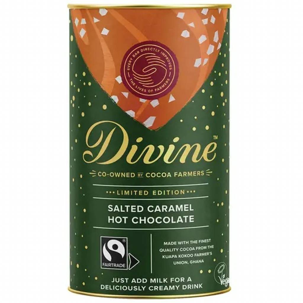 Divine Salted Caramel Hot Chocolate (300g) gallery image #1