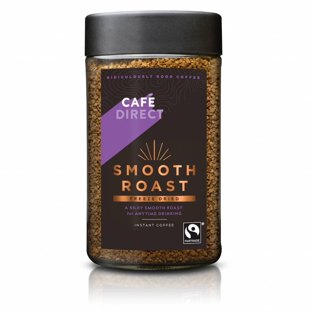 Cafedirect Smooth Roast Instant Coffee (Case of 6) gallery image #1