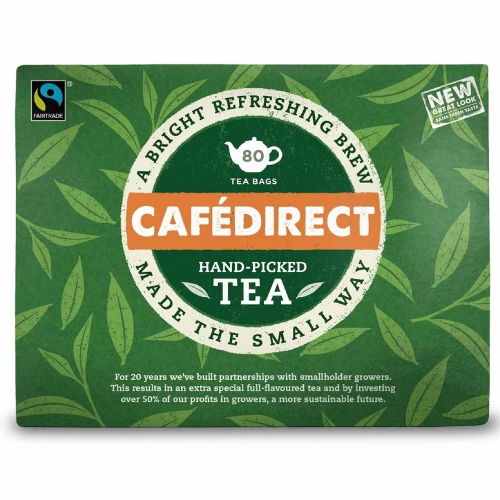 Cafedirect Everyday Tea (6x80) gallery image #1