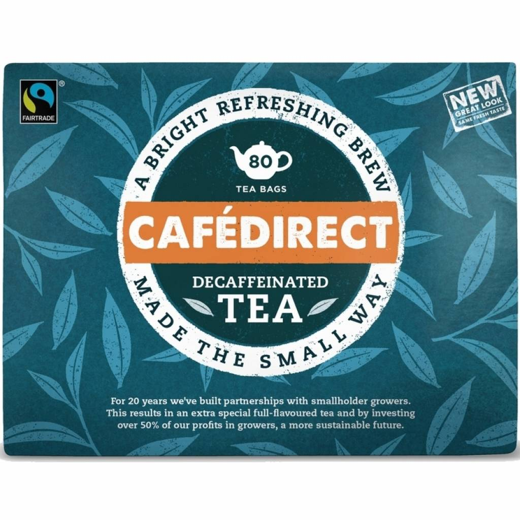 CafeDirect Decaf Everyday Tea (6x80) gallery image #1
