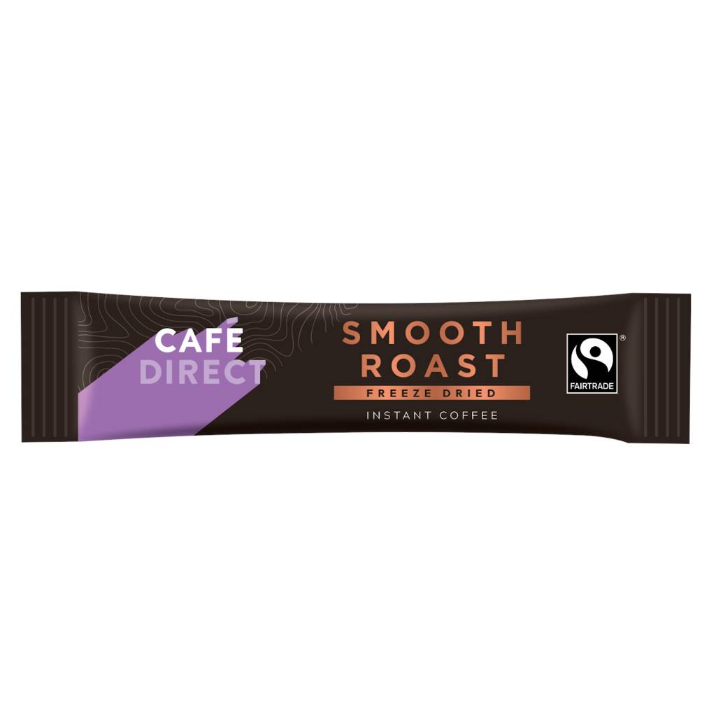 Cafedirect Smooth Roast Instant Coffee Sticks (250) gallery image #2