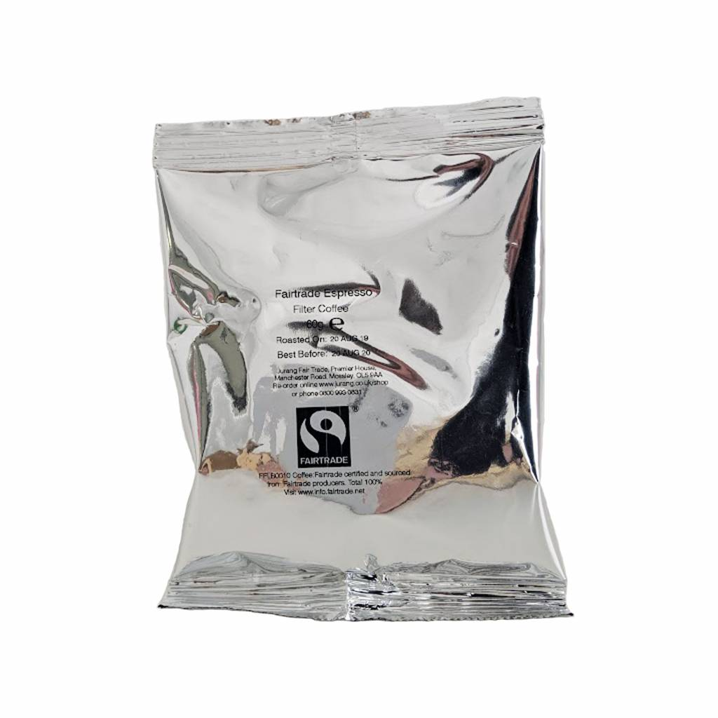 Jurang Fairtrade Filter Coffee Sachets (50x60g) gallery image #2