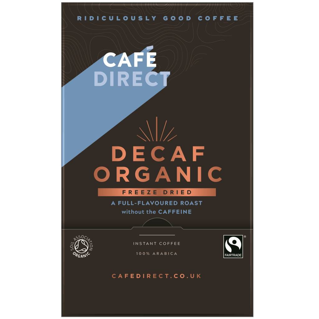 CafeDirect Decaf Organic Freeze Dried Coffee Sticks (250) gallery image #1