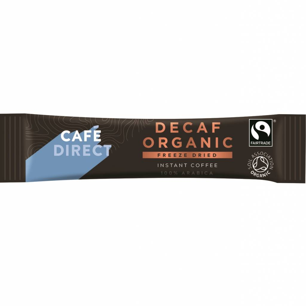 CafeDirect Decaf Organic Freeze Dried Coffee Sticks (250) gallery image #3