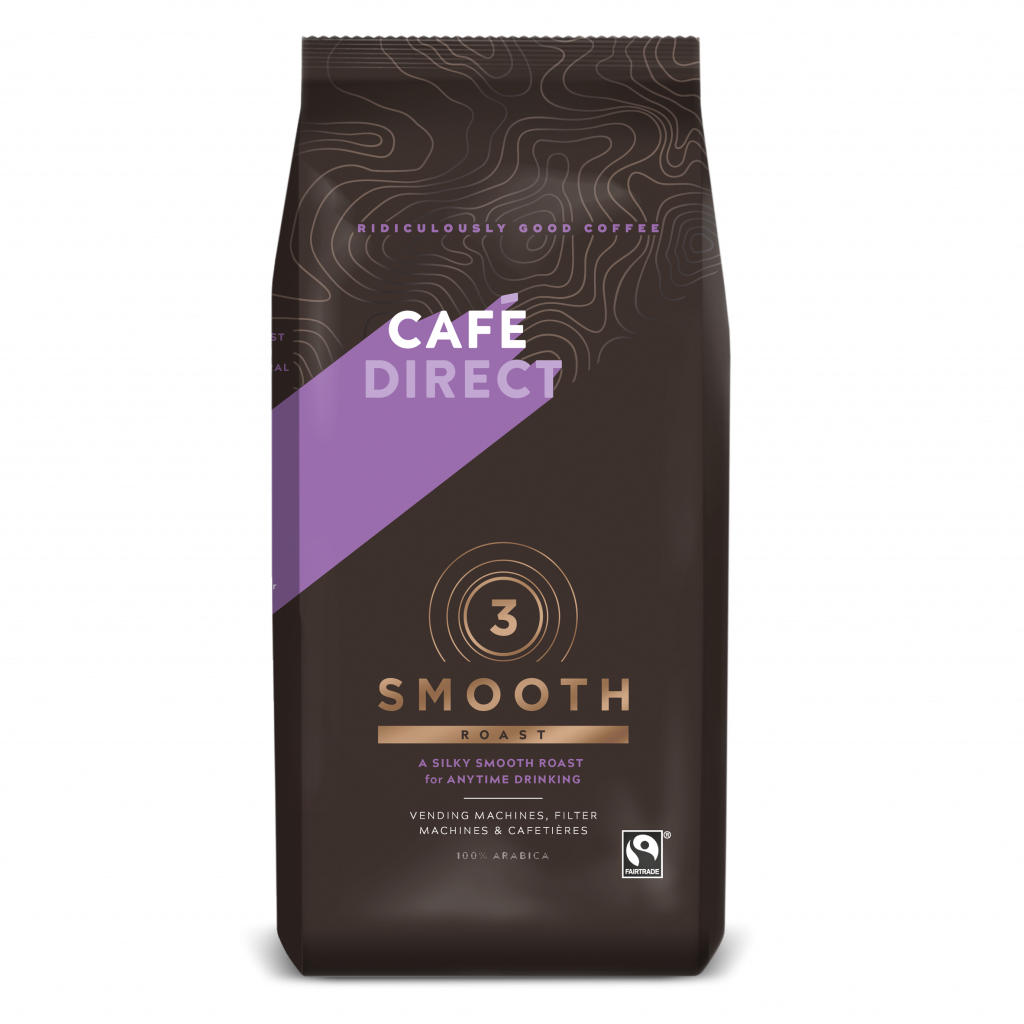 CafeDirect Smooth Roast Ground Coffee (8x750g) gallery image #1