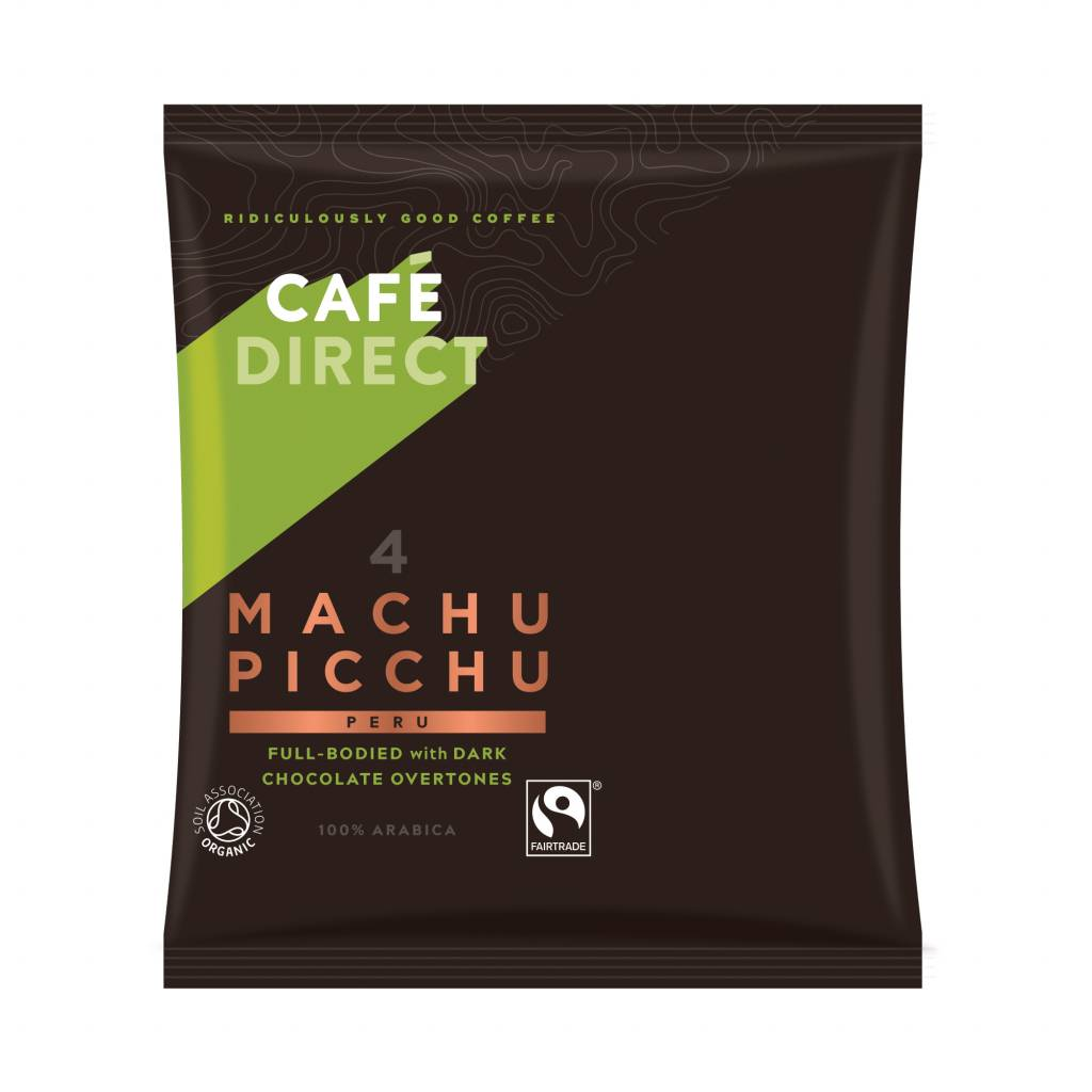 CafeDirect Machu Picchu Coffee Sachets (45x60g) gallery image #1