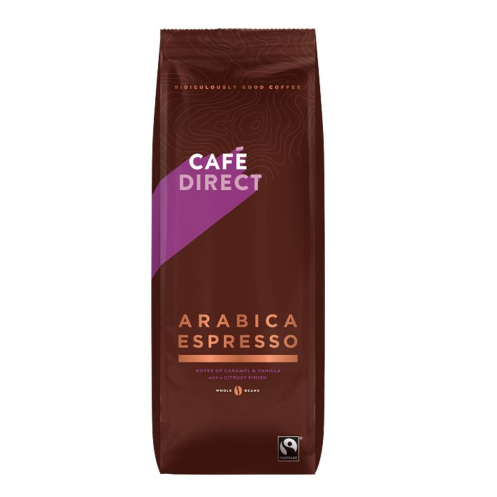 CafeDirect Arabica Espresso Beans (1kg) gallery image #1