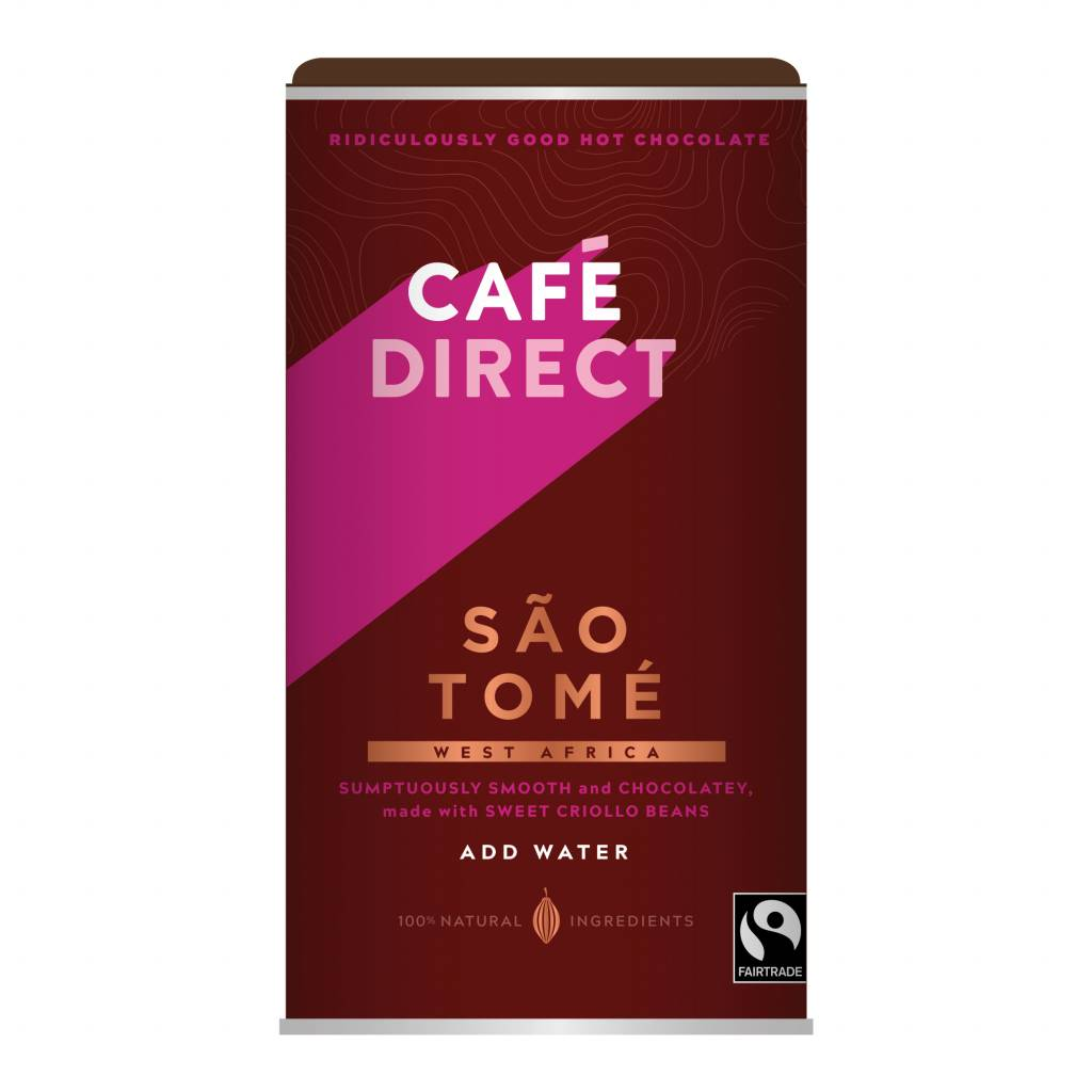 CafeDirect Sao Tome Instant Hot Chocolate (300g) gallery image #1