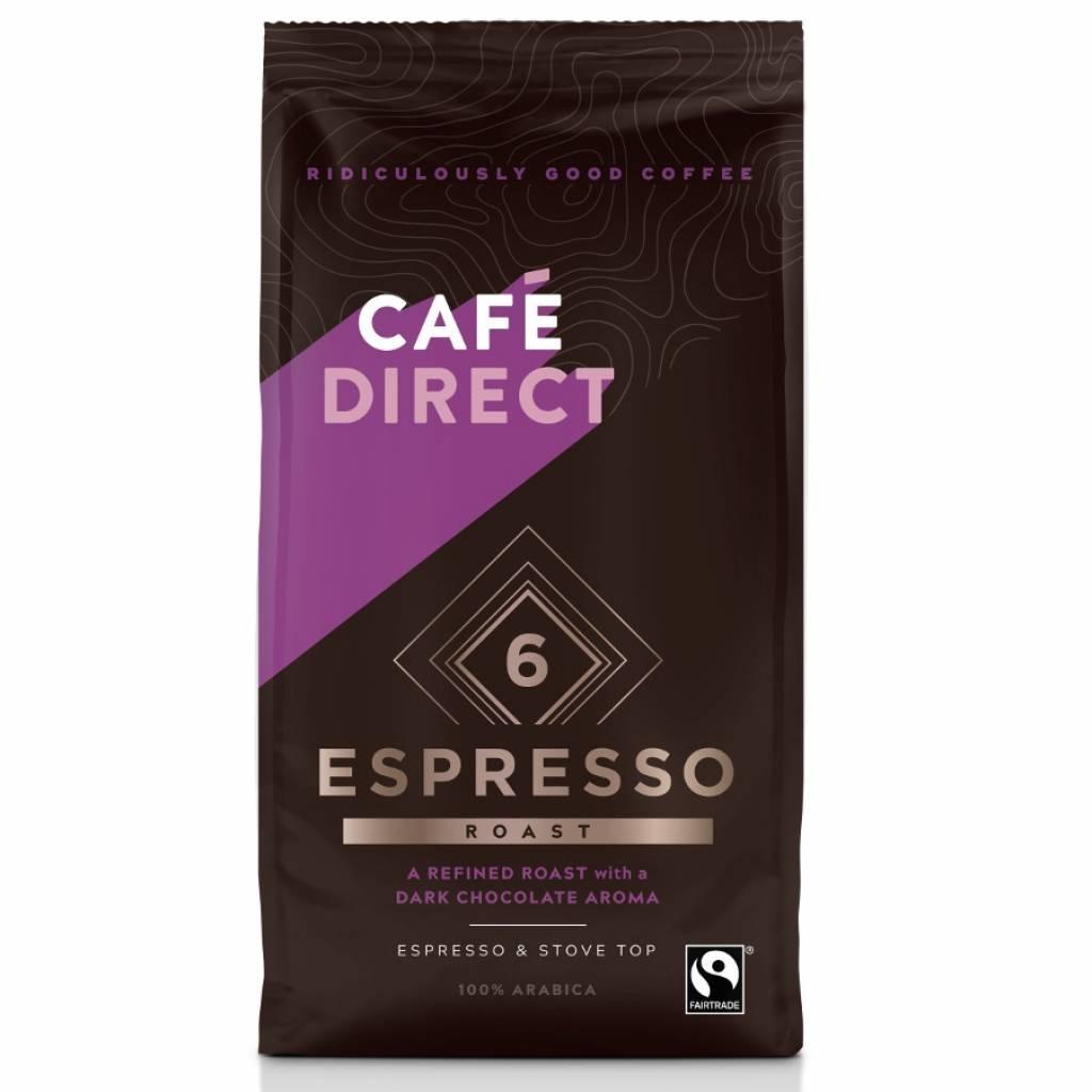CafeDirect Espresso Roast Ground Coffee (227g) gallery image #1