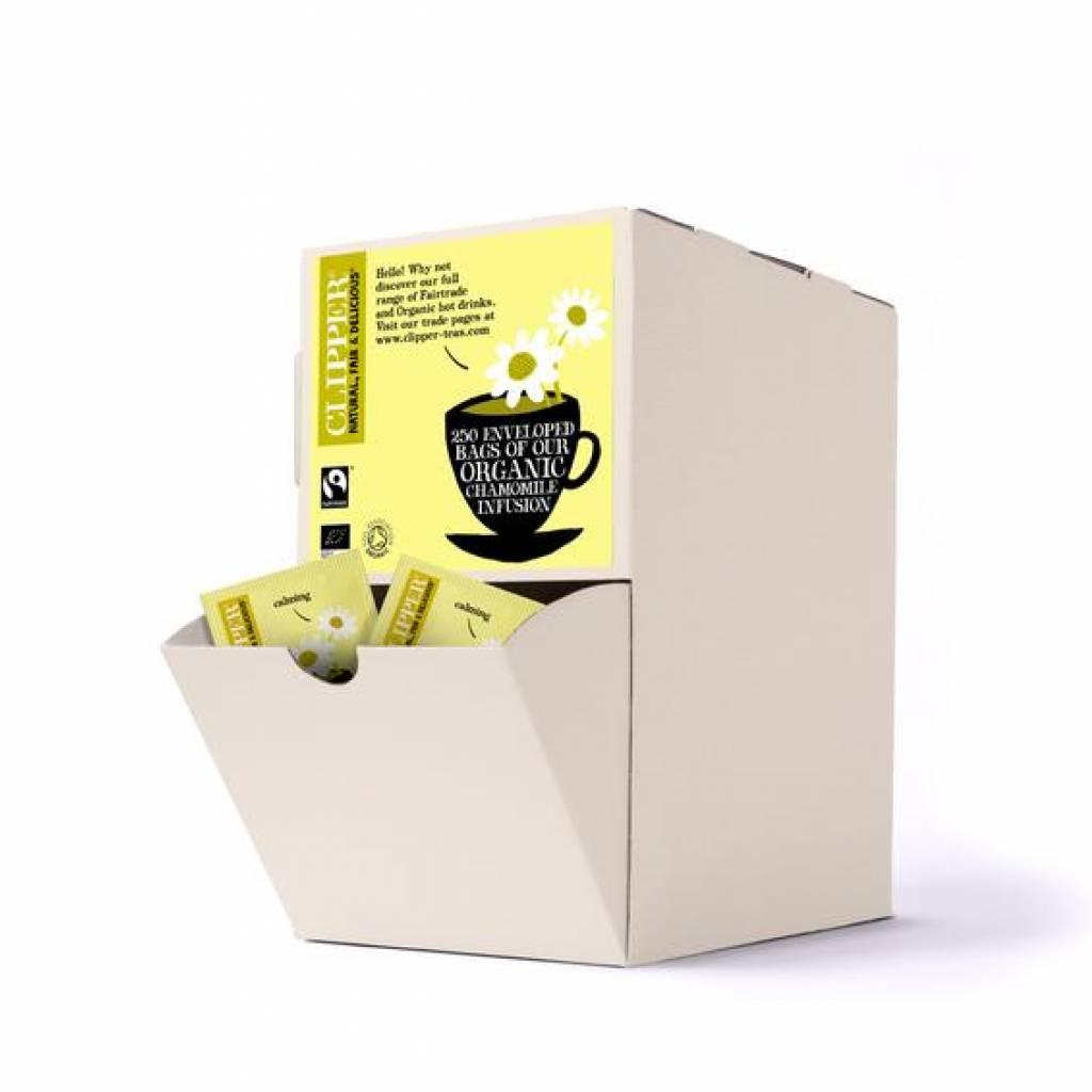 Clipper Organic Fairtrade Chamomile Tea (250) gallery image #1