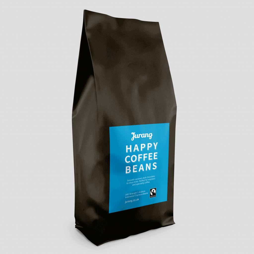 Jurang Fairtrade Espresso Coffee Beans (1kg) gallery image #1