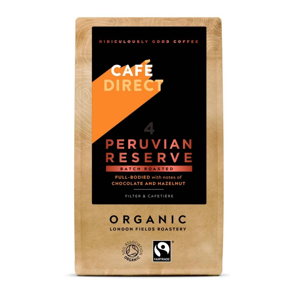 Cafedirect Peruvian Reserve Ground Coffee (227g) gallery image #1