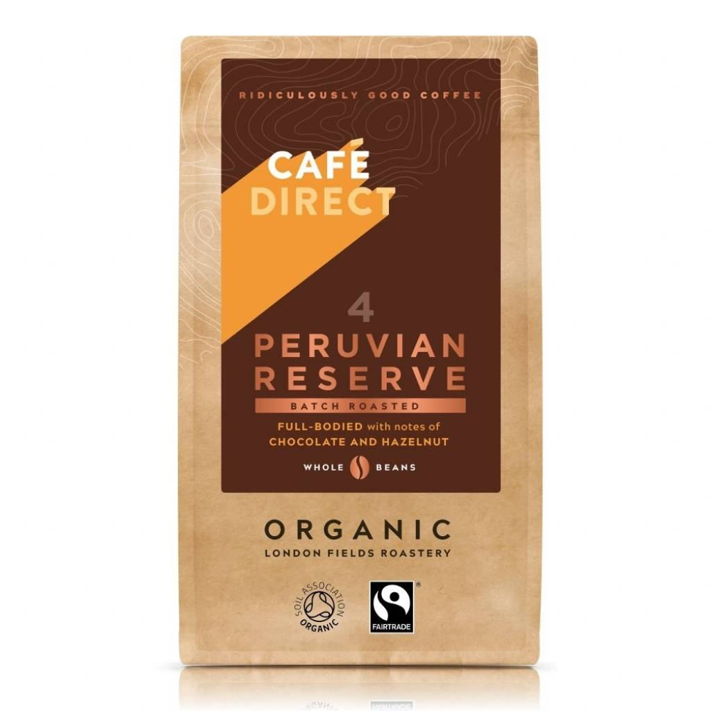 Cafedirect Peruvian Reserve Beans (6x227g) gallery image #1
