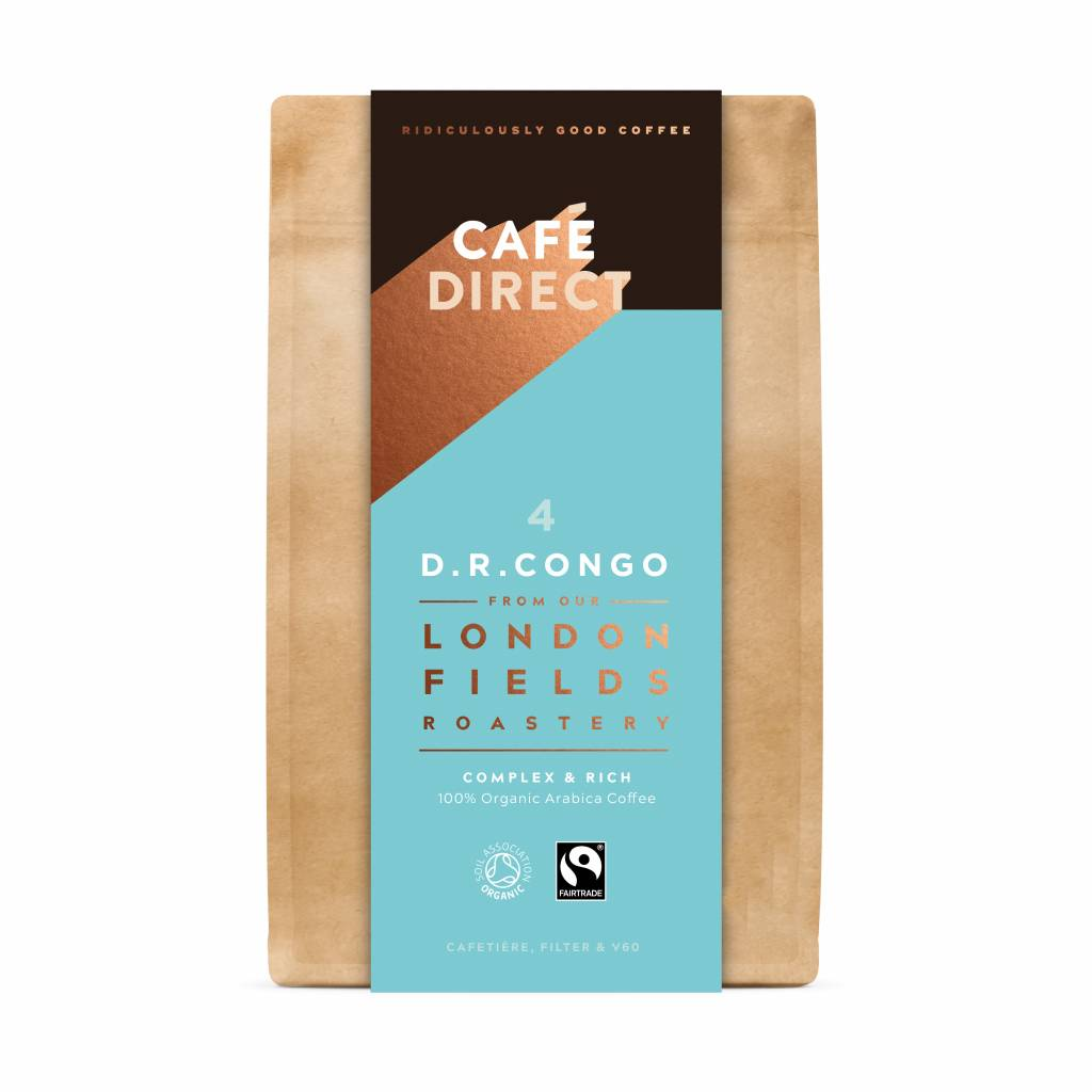 CafeDirect London Fields D.R. Congo Ground Coffee (200g) gallery image #1