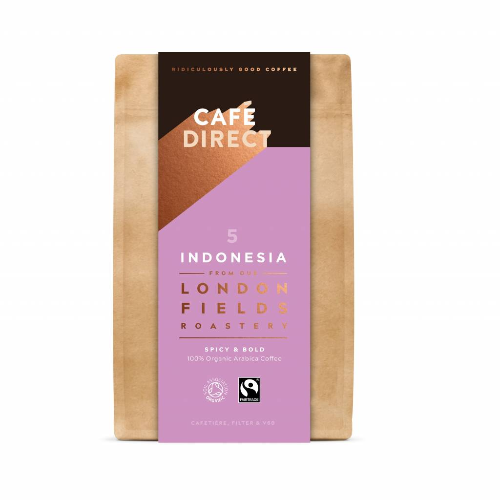 CafeDirect London Fields Indonesia Ground Coffee (6x200g) gallery image #2