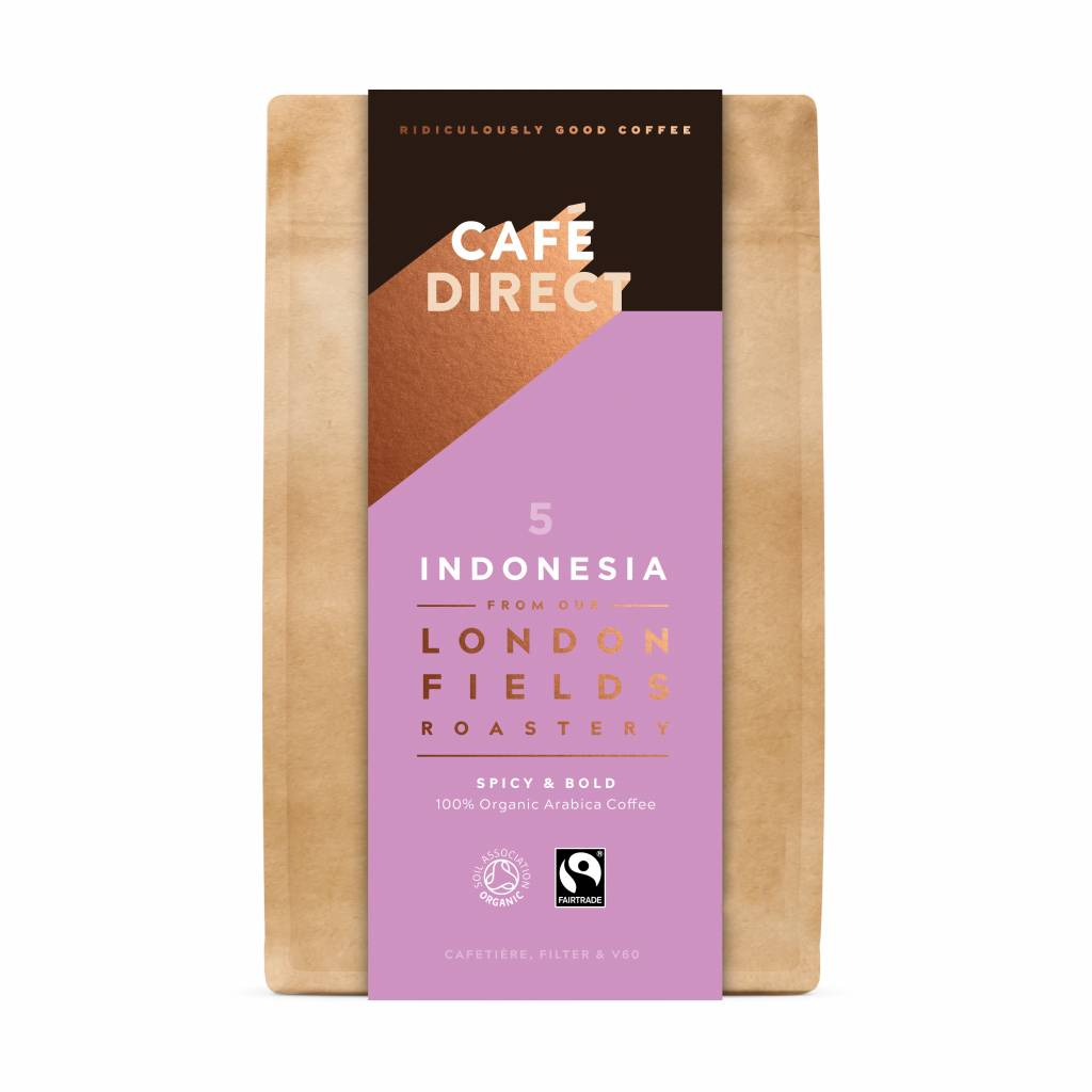 CafeDirect London Fields Indonesia Ground Coffee (6x200g) gallery image #1