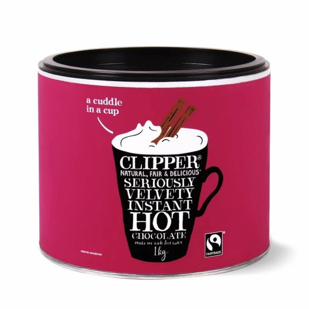Clipper Seriously Velvety Instant Hot Chocolate (1kg) gallery image #1